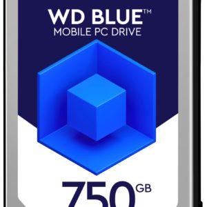 """E09D15 - Disque 2.5"""" SATA  750GB - 5400 WESTERN Blue Mobile (8 Mo) [WD7500BPVX] - Hauteur 9,5 mm"""