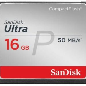 E11K19 - Compact Flash  16000MB (16GB) - SANDISK Ultra 50MB/s