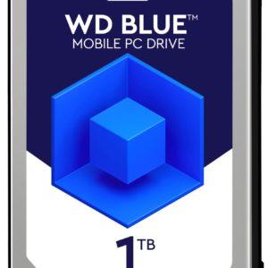 "E12F16 - Disque 2.5"" SATA 1.0To (1000GB) - 5400 WESTERN Blue Mobile 7.0 mm (16 Mo) [WD10SPCX] - Hauteur 7,0 mm"