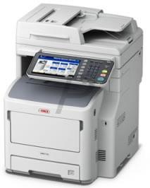 E13E03 - OKI MC760dnfax couleur A4 MFP - [Scan - Copy - Print - Fax ] Avec Toner