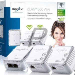 E14B24 - DEVOLO dLAN 500 WiFi Network Kit [9095] (Suisse & Europe)