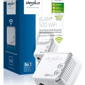 E14B25 - DEVOLO dLAN 500 WiFi [9081] (Suisse & Europe)