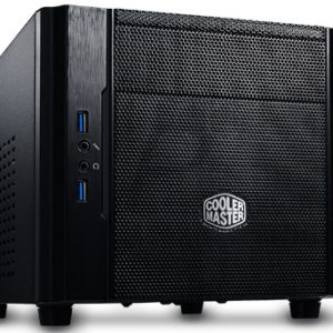E17X08 - Boitier COOLER MASTER Mini-ITX Elite 130 Appearance: polymer front mesh panel ( 1 x 5.25 ) - No Power