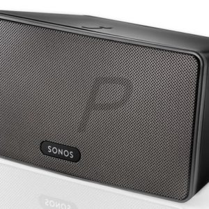 E18D01 - SONOS PLAY:3 Noir - Un lecteur tout-en-un, plus petit, plus design ; posez-le dans un coin, il fait vibrer la pièce entière