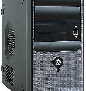 E19H21 - Micro ATX Boitier Tour IN WIN Z583 Black ( 2 x 5.25 ) - No power