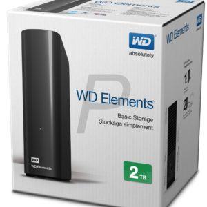 E20H18 - Disque externe  2.0To (2000GB) WESTERN Elements [WDBWLG0020HBK-EESN]