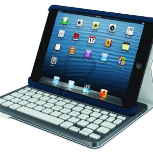 E21H26 - LOGITECH Keyboard CH Folio for iPad mini - Mystic Blue bluetooth rechargeable [920-005334]