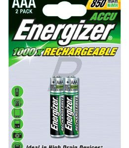 E25G10 - AAA - ENERGIZER NiMH Standard - ENERGIZER HR3/AAA 1.2V- 700mAh (2 Piles)