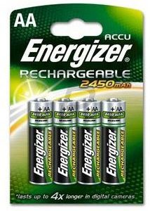 E25G11 - AA - ENERGIZER NiMH Standard - ENERGIZER HR6/AA 2300mAh (4 Piles)