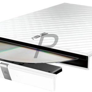 E28B09 - DVD ± RW 8.5GB ASUS SDRW-08D2S-U LITE Slim White - USB 2.0