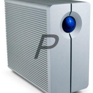E28C12 - Disque externe  8.0To (8000GB) LACIE 2big Quadra [9000317] - 2-Bay RAID [USB 3.0 ;FireWire 400 & 800 ] Design by Neil Poulton