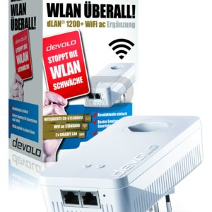 F01J01 - DEVOLO dLAN 1200+ WiFi ac Powerline [9388] (Suisse)