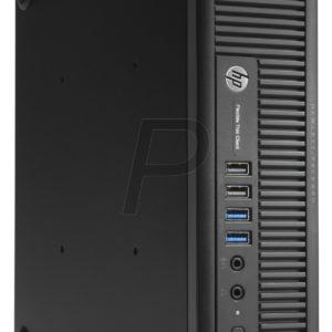 F05F26 - HP t820 Client léger flexible (E4R85AA) - i5-4570S 2,9 GHz/4Go/SSD MLC 16 Go/Windows Embedded 7E Standard 32