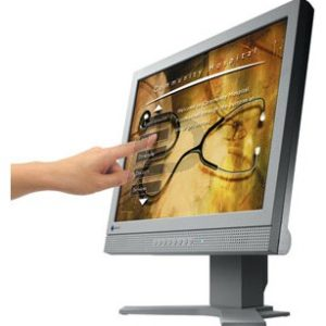 "F08G50 - Ecran LCD 17"" Touch Screen EIZO L760T-C ( 180cd, 1000:1, 20ms, V178/H178, Analog) grey"