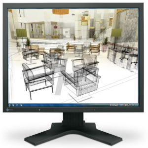 "F08G58 - Ecran 21,3"" LED EIZO S2133H ( 1680x1200, 420cd, 1500:1, 6ms, V178/H178, Analog/DVI/Display port ) Black"