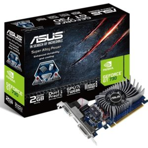 F12L25 - ASUS GT730-2GD5-BRK PCIe ( GeForce GT730 2048MB DVI/HDMI )