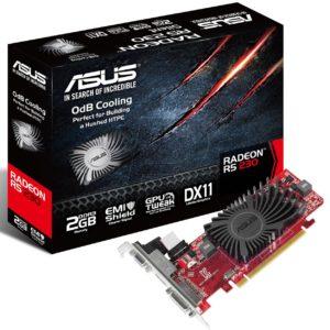 F16F11 - ASUS R5230-SL-2GD3-L PCIe ( Radeon R5 230 2048MB DVI, HDMI)