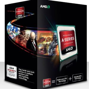 F18H02 - AMD Dual-Core A6 7400K APU with AMD Radeon R5 Series [Socket FM2+ - 1Mb - 3.5 GHz - 28nm ] + Ventilateur