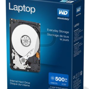 "F30X27 - Disque 2.5"" SATA  500GB - 5400 WESTERN Laptop Mainstream (8 Mo) [WDBMYH5000ANC]"