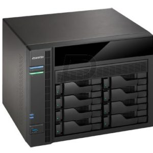 "G02X01 - Boitier Ethernet (NAS) pour HDD 3.5"" - ASUSTOR AS-5008T 8x 3.5 SATA - (Sans Disque)"