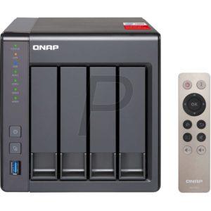 """G03K16 - Boitier Ethernet (NAS) pour HDD 3.5"""" - QNAP NAS TS-451+2G NAS 4x 3.5 SATA - (Sans Disque)"""