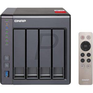 """G03K17 - Boitier Ethernet (NAS) pour HDD 3.5"""" - QNAP NAS TS-451+8G NAS 4x 3.5 SATA - (Sans Disque)"""