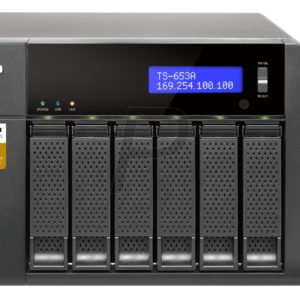"""G04K26 - Boitier Ethernet (NAS) pour HDD 3.5"""" - QNAP NAS TS-653A-4G 6x 3.5 SATA - (Sans Disque)"""