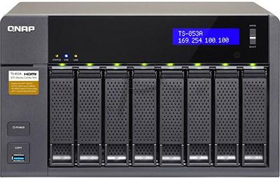 """G04K28 - Boitier Ethernet (NAS) pour HDD 3.5"""" - QNAP NAS TS-853A-4G 8x 3.5 SATA - (Sans Disque)"""