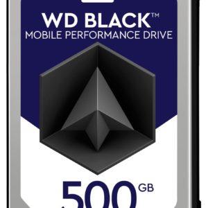 "G07G38 - Disque 2.5"" SATA  500GB - 7200 WESTERN black mobile 7.0mm (32 Mo) [WD5000LPLX] - Hauteur 7,0 mm"