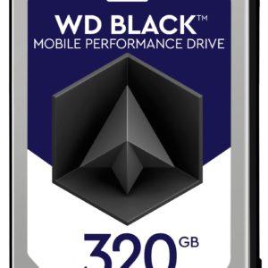 "G07G39 - Disque 2.5"" SATA  320GB - 7200 WESTERN black mobile 7.0mm (32 Mo) [WD3200LPLX] - Hauteur 7,0 mm"