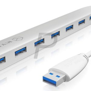G08X28 - HUB USB 3 ICY BOX 7 Port USB 3.0 Hub [IB-AC6701]