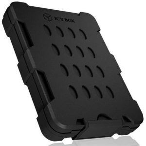 """G11K02 - Boitier externe pour HDD/SSD 2.5"""" SATA - ICY BOX [ IB-279U3 ] - Noir (Hdd 9.5mm) IP65 – waterproof and dust tight"""