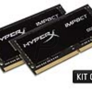 G11X23 - DDR4  8GB [2x4GB] DDR2400 SO-DIMM Notebook - KINGSTON HyperX Impact [HX424S14IBK2/8]