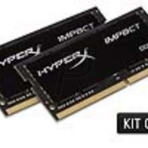 G11X23-REC - RECONDITIONNÉ : DDR4  8GB [2x4GB] DDR2400 SO-DIMM Notebook - KINGSTON HyperX Impact [HX424S14IBK2/8]