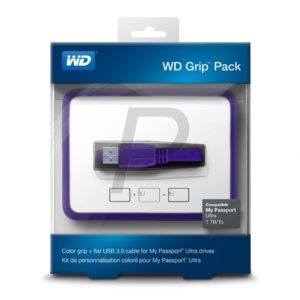 G12F08 - WESTERN Pack Grip 1TB [WDBZBY0000NPLEASN] Raisin