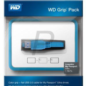 G12F09 - WESTERN Pack Grip 1TB [WDBZBY0000NBLEASN] Bleu ciel