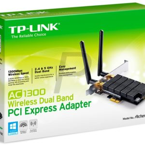 G16X17 - TP-LINK Archer T6E AC1300 Wireless Dual Band PCI Express Adapter