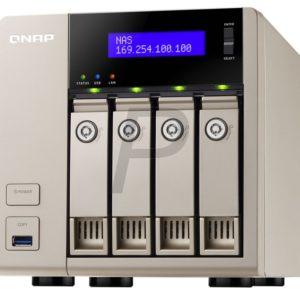 "G21A24 - Boitier Ethernet (NAS) pour HDD 3.5"" - QNAP TVS-463-8G 4x 3.5 SATA - (Sans Disque)"