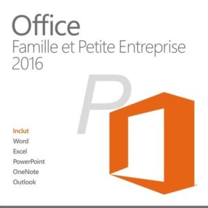 G22X20 - MAC English MICROSOFT Office Home & Business 2016 (Word, Excel, OneNote, Powerpoint, Outlook) Product Key Card - No CD/DVD