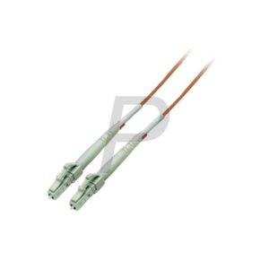 G26H01 - Câble Patch fibre optique duplex E9/125 um LC/LC  1m