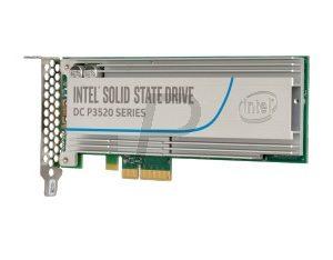 H01X10 - SSD Drive 1.2To (1200GB) INTEL SSD DC P3520 SERIES PCIE Intel® SSD DC P3520 Series (1.2TB, 1/2 Height PCIe 3.0 x4, 3D1, MLC) [SSDPEDMX012T701]