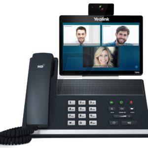 """H06A15 - YEALINK SIP VP-T49G Vidéophone VoIP pour SIP avec écran tactile 8"""" et caméra 2 mégapixels"""