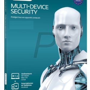 H06D17 - ESET Multi-Device Security Pack 5 appareils 1 an - No CD/DVD - Clé envoyée par mail