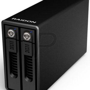 "H08B01 - Boitier externe pour HDD 3.5"" SATA - ICY BOX Raidon GR3660-B3 USB 3.0, pour 2xSATA HDD"
