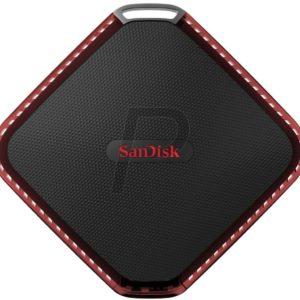 H09B14 - SSD externe  480GB - SANDISK Extreme 510 Portable tout-terrain et résistant à l'eau [SDSSDEXTW-480G-G25]