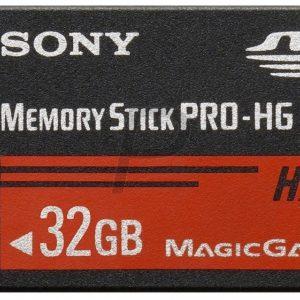 H10B27 - Memory Stick PRO-HG Duo 32000MB (32GB ) - SONY MSHX32B