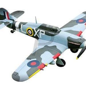 H10E02 - AMEWI Hawker Hurricane PNP Warbird, PNP, 4-Kanal [24043]