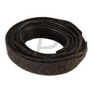 H13E18 - VELCRO Klettband mit Lasche, Schwarz 10 Stück, 13mm, für Bündel 6-48mm [B28020330999200]