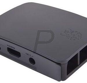 H14D09 - RASPBERRY PI Boitier pour Raspberry Pi 3 Typ B anthracite [909-8138]