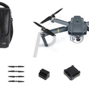 H15K04 - DJI DRONES Mavic Pro Combo Drone + accessoires Gris Autonomie : 27 min max Caméra : 4k Se replie aussi petit qu'une bouteille d'eau